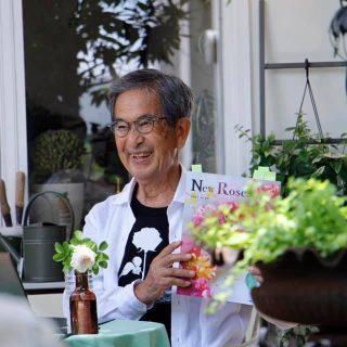 有島薫先生のバラのお話し会